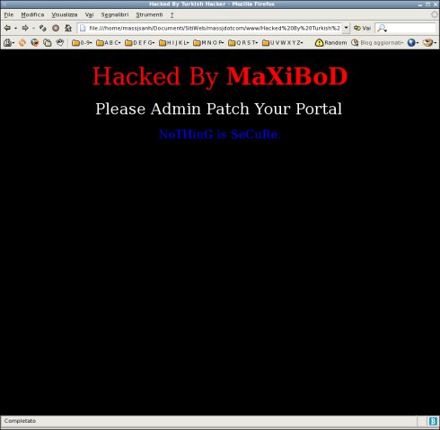 massj.com hacked